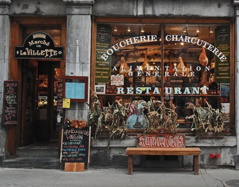 Old Town of Montreal. Image of Montreal travel blog