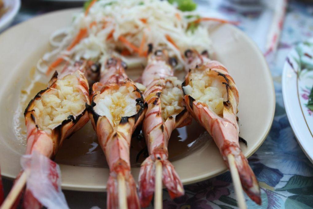 phuket sea food. image of phuket travel blog