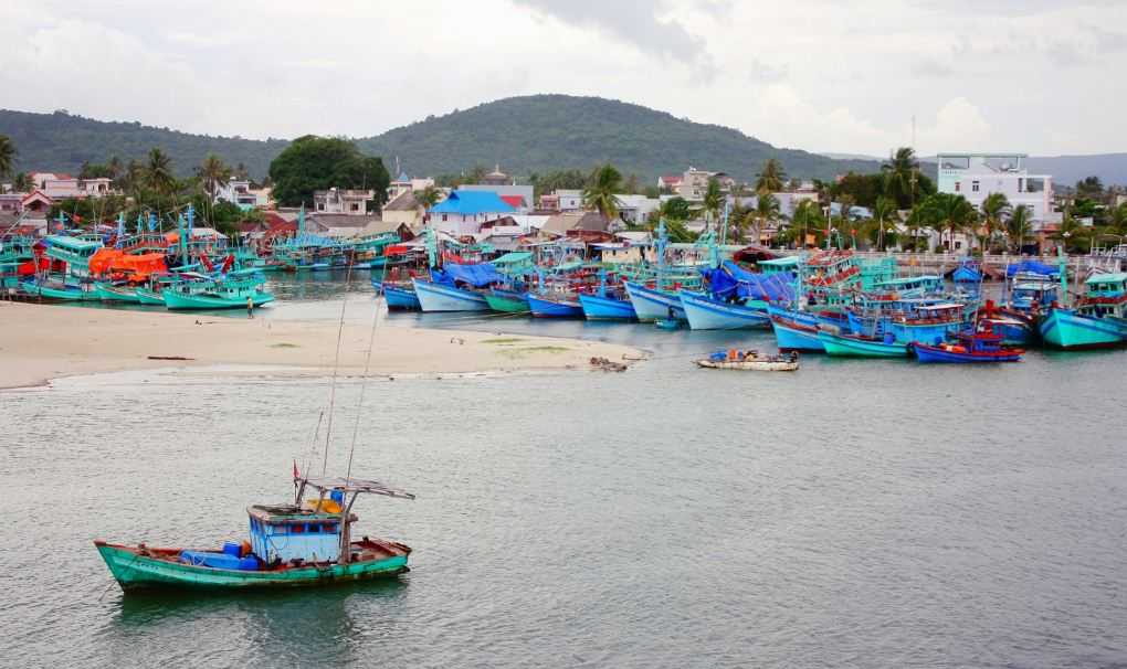 Ham Ninh Fishing Village