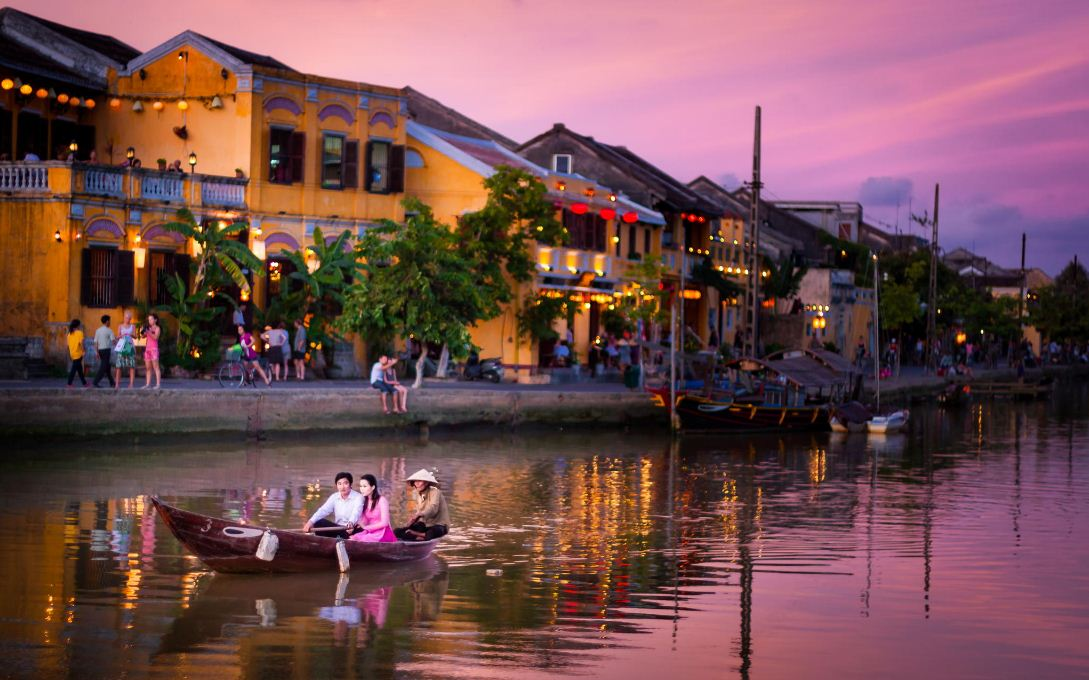 Hoi An is one of the best honeymoon destinations on a budget in Vietnam