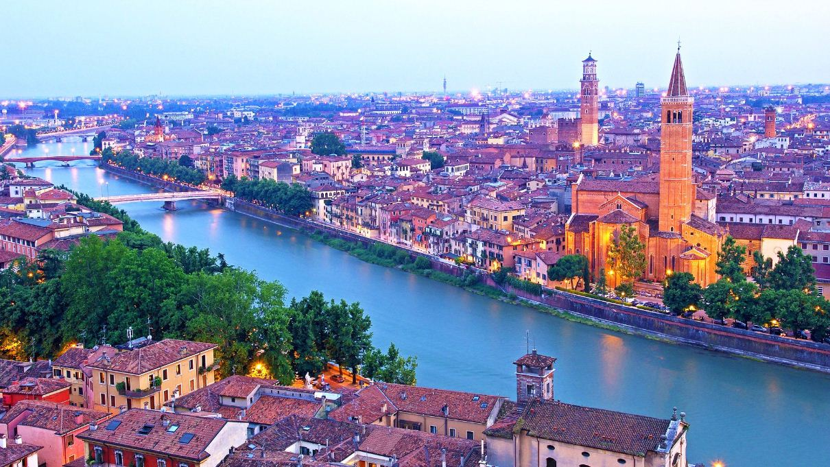 Verona is one of the best honeymoon destinations on a budget in the world