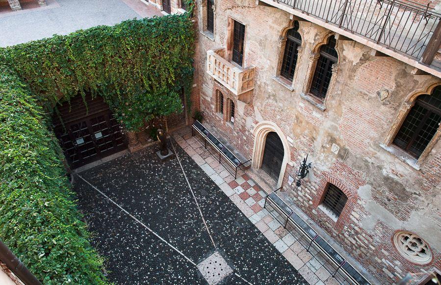 Juilet's house, Verona