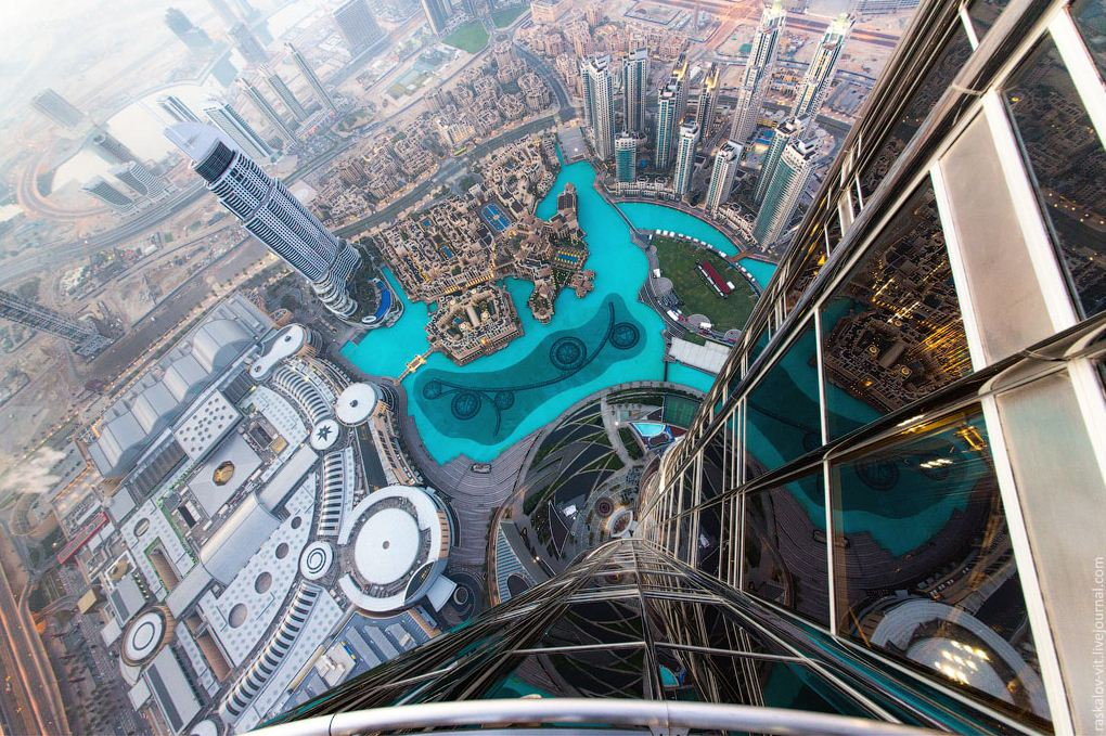 Burj Khalifa observation deck. dubai travel blog