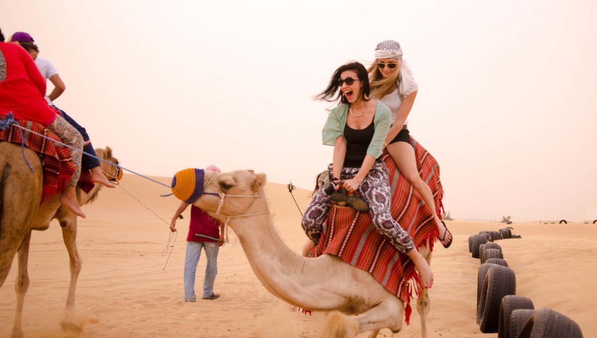 dubai safari desert