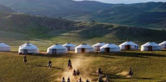 Image of Mongoglia travel blog. Gobi desert, Mongoglia. Image of Mongoglia travel blog.
