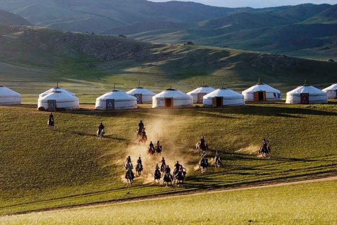 Image of Mongoglia travel blog. Gobi desert, Mongoglia. Image of Mongoglia travel blog.
