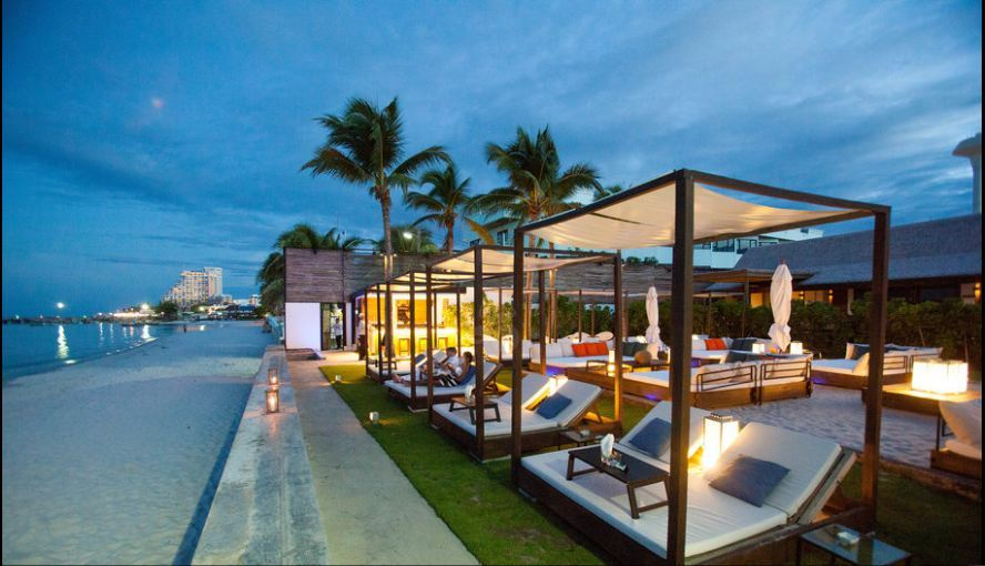 Oceanside Beach Bar Hilton Hua Hin Resort Thailand Best Place To