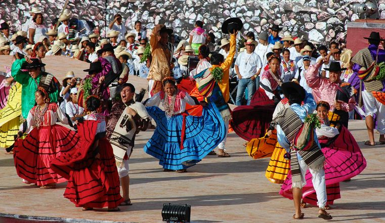 Guelaguetza Festival parade - Oaxaca 2