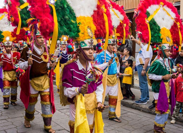 Guelaguetza Festival parade - Oaxaca