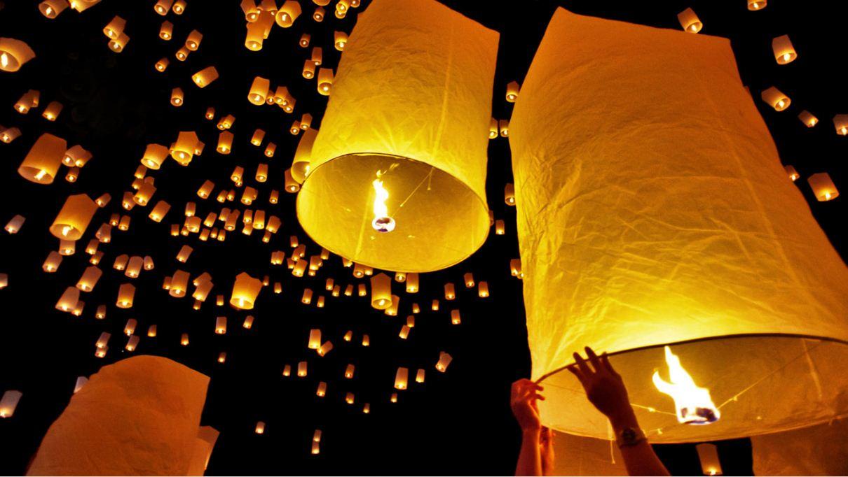 loy krathong festival chiang mai thailand (1)