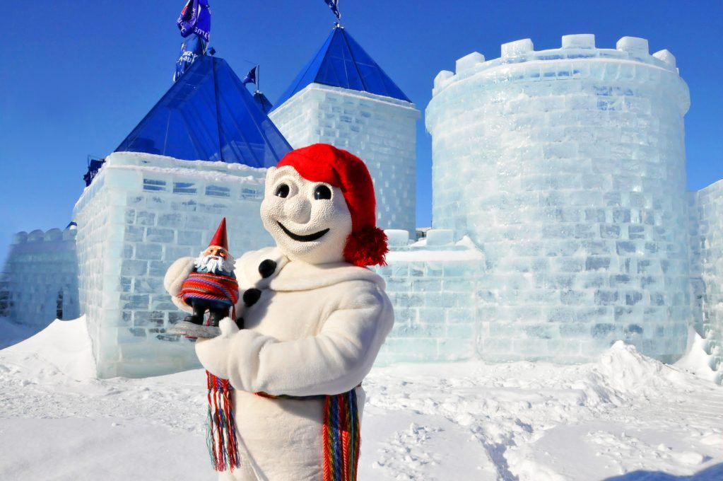 Bonhomme is the 7-feet tall snowman who is the mascot, official spokesperson, and star of the Quebec Winter 'Carnaval'.