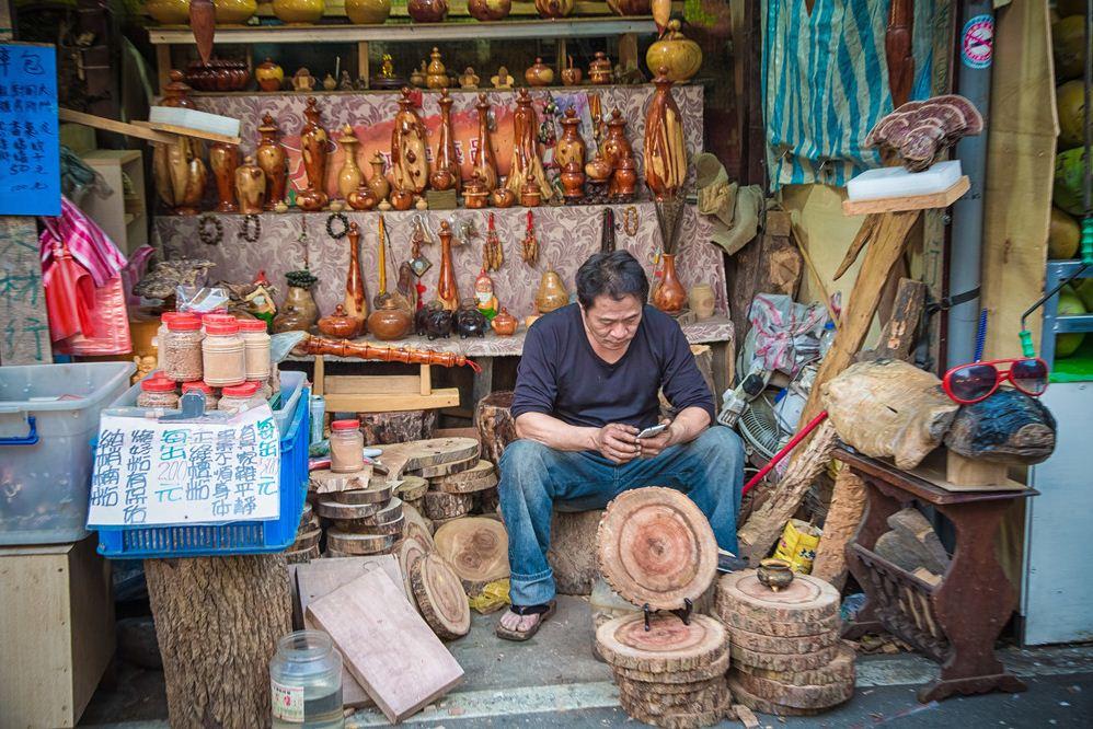21getting around Neiwan Old Street taiwan lei cha tea leicha tea hakka people (1)