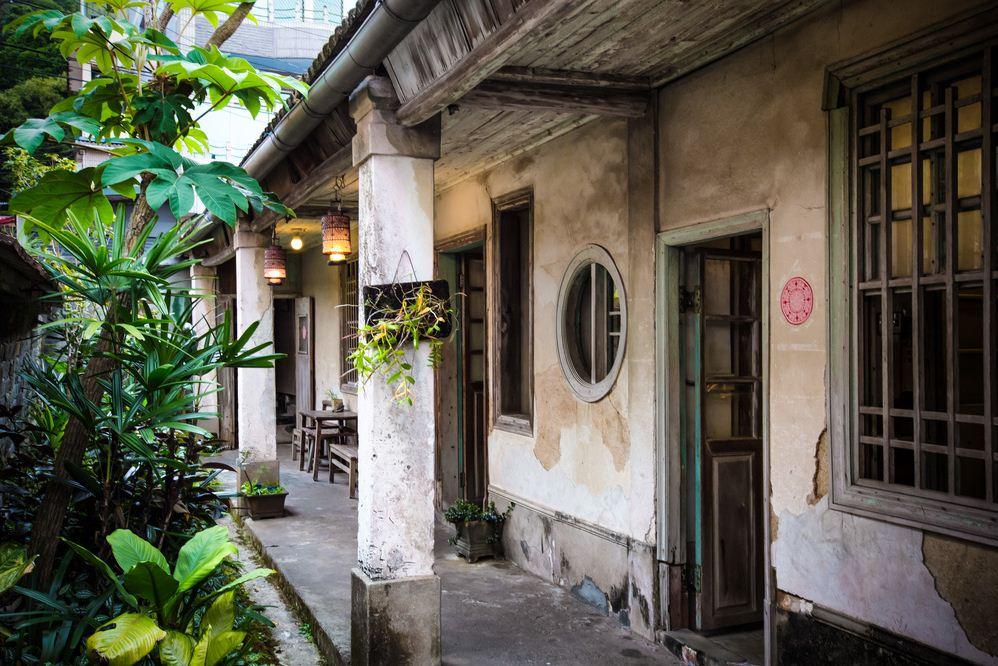 41getting around Neiwan Old Street taiwan lei cha tea leicha tea hakka people (1)