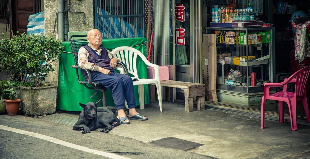 8Neiwan Old Street taiwan lei cha tea leicha tea hakka people (1)