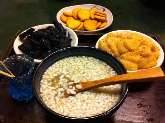 Neiwan Old Street taiwan lei cha tea leicha tea hakka people (1)