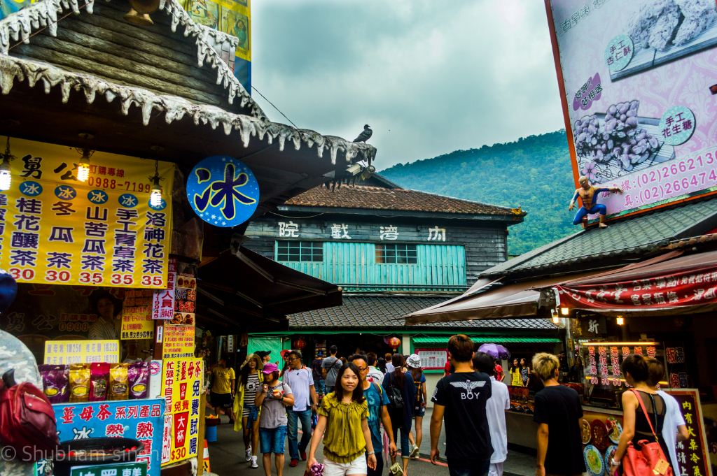 getting around Neiwan Old Street taiwan lei cha tea leicha tea hakka people (1)