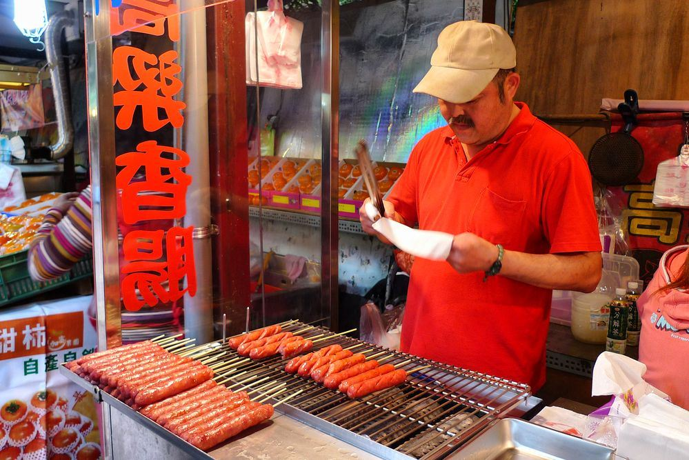 street food Neiwan Old Street taiwan lei cha tea leicha tea hakka people (8)