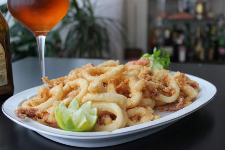 Tapas Calamares Fritos