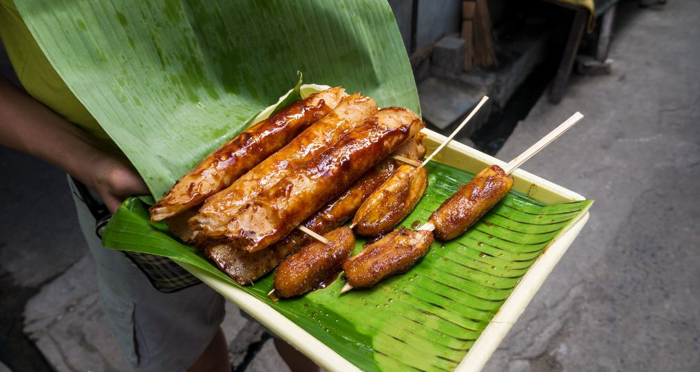 Ginanggang, Pinoy dessert