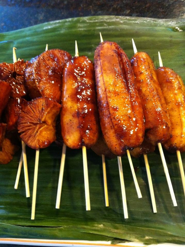 BBQ banana, Pinoy dessert