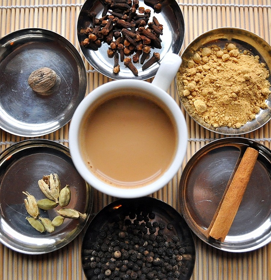 Masala Chai, India. Image of street food around the world blog.