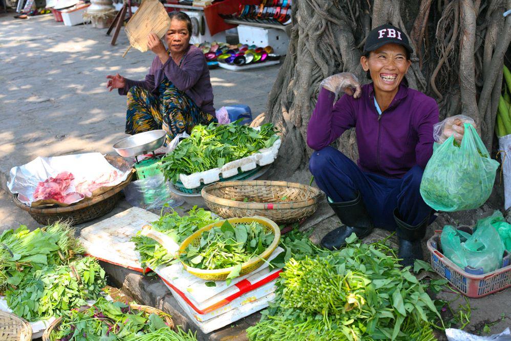 vietnamese traditonal market