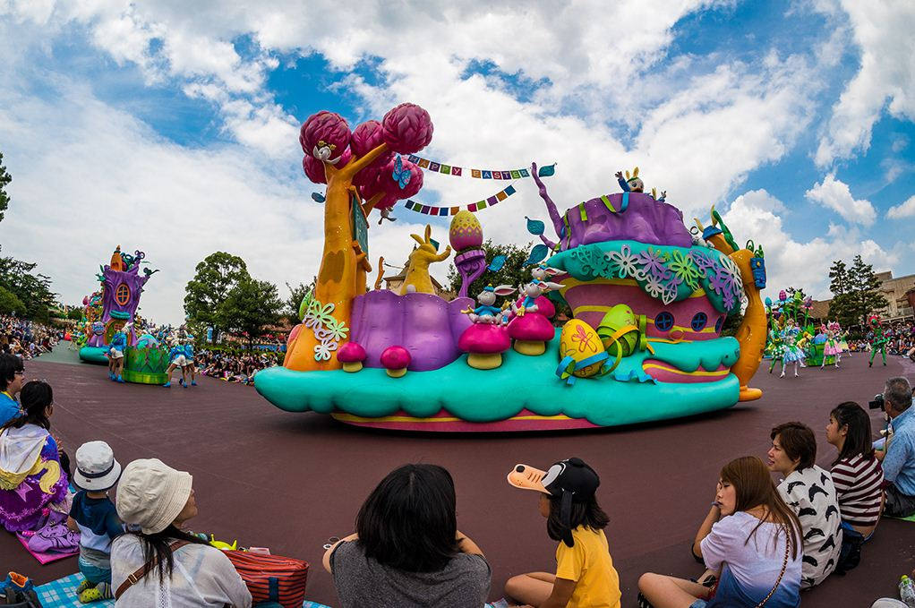 Tokyo Disney Sea. One of the best amusement parks in Asia