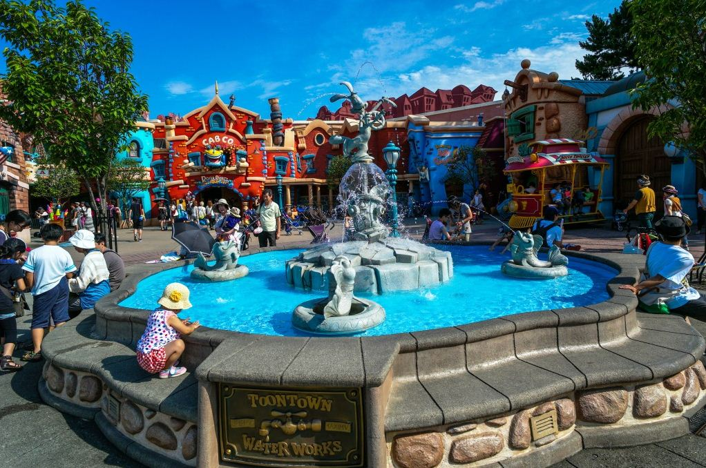 Tokyo Disneyland. One of the best amusement parks in Asia
