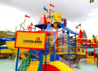 Legoland water park, Malaysia. One of the best amusement parks in Asia