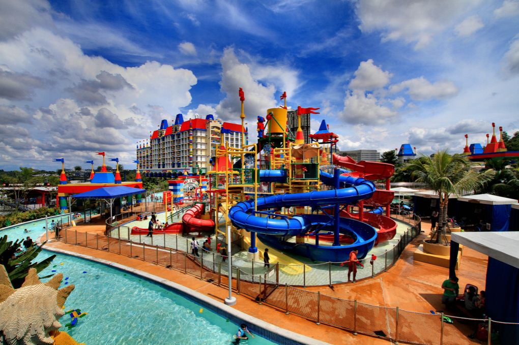 Legoland, Malaysia. One of the best amusement parks in Asia