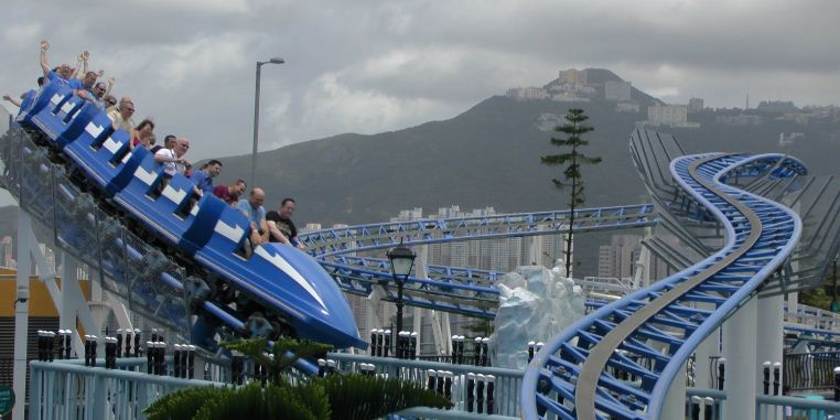 Ocean Park, Hong Kong. One of the best amusement parks in Asia (1)