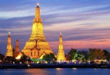 wata run temple of dawn bangkok