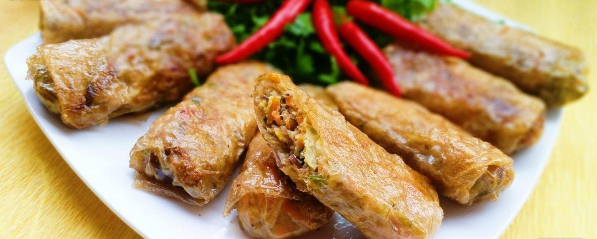 2nem oc snail spring roll vietnamese fried spring rolls