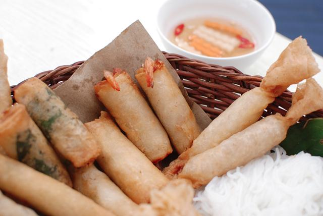 3Shrimp spring roll vietnamese fried spring rolls
