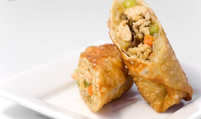 Chicken spring rolls, Vietnamese fried spring rolls
