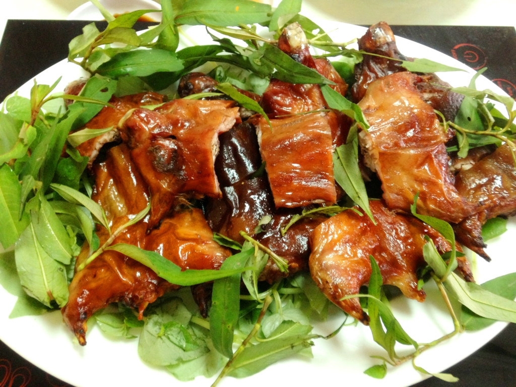Mice meat, one of the weird Vietnamese foods