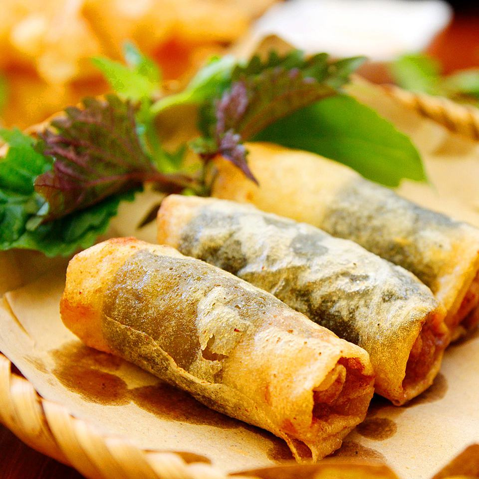 sticky rice spring roll vietnamese fried spring rolls
