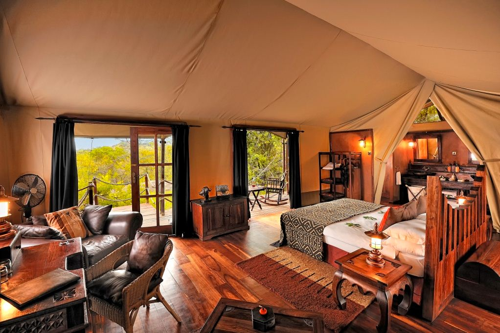 Glamping in Africa: Elewana Collection in Tanzania and Kenya. Image source: Roderick Eime