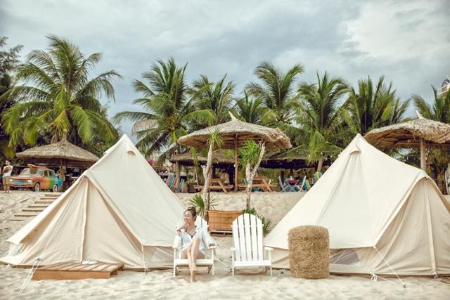 Coco Beach Camp Lagi, Binh Thuan, Vietnam