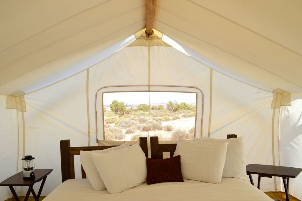 Glamping at Moab Under Canvas