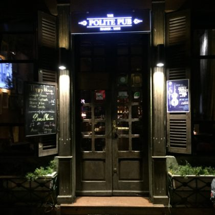 Polite Pub, the oldest bar in Hanoi