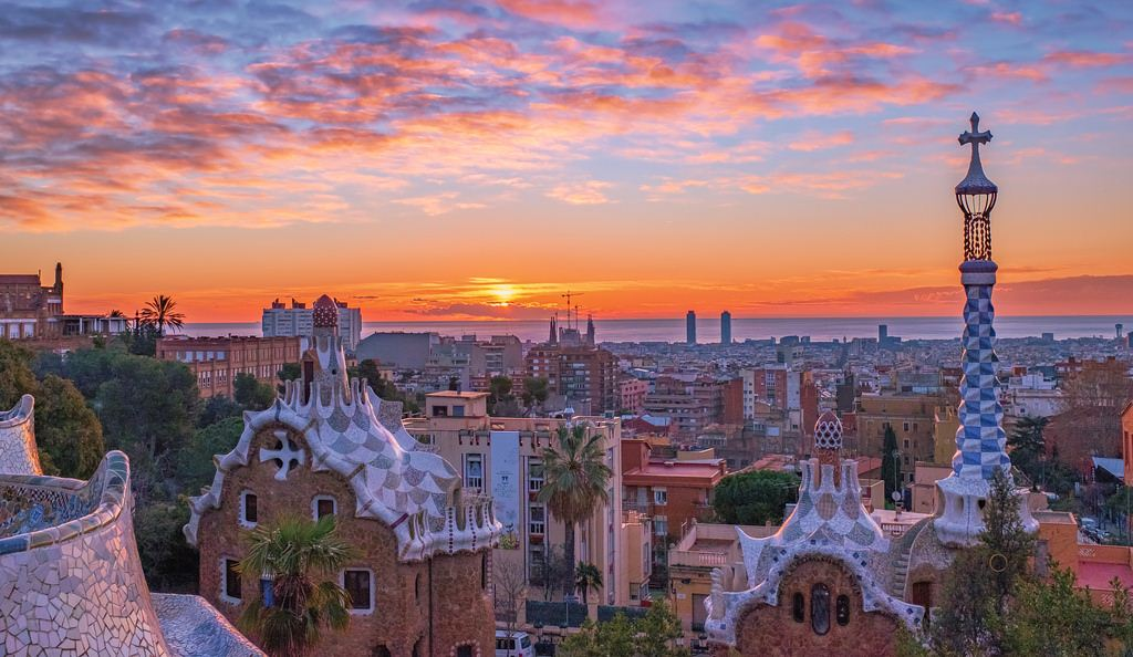 Park Guell barcelona trip blog barcelona travel blog