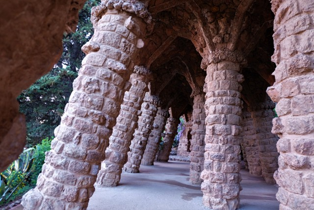 Park Guell. Image of Barcelona travel blog