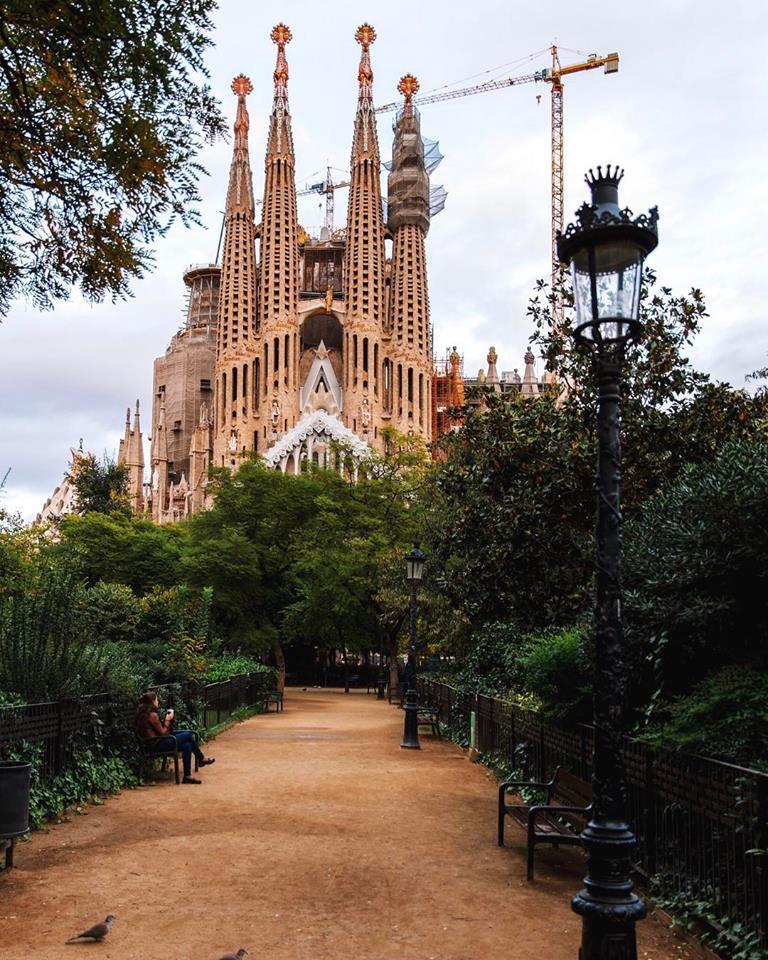 Sagrada Família barcelona trip