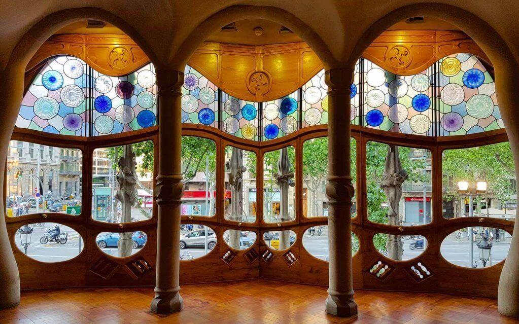 Casa Batlló. Image of Barcelona trip blog.