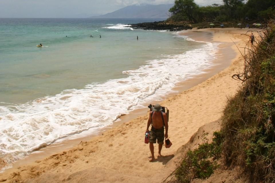 Little Beach maui hawaii