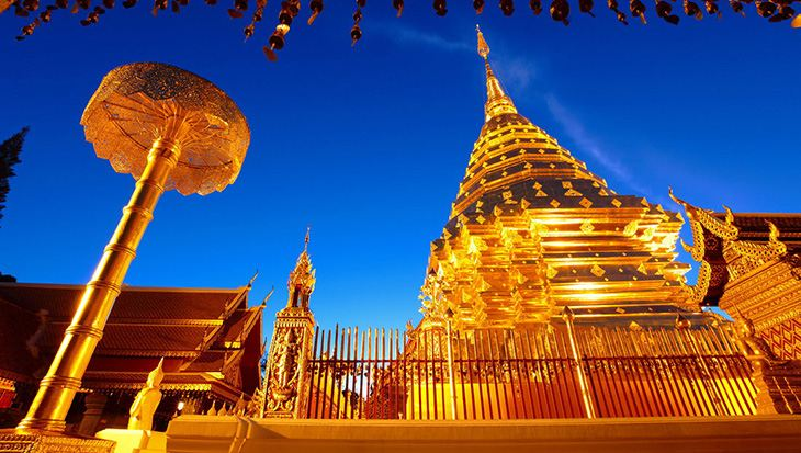 wat phrathat doi suthep chiang mai Photo: Chiang Mai travel blog.