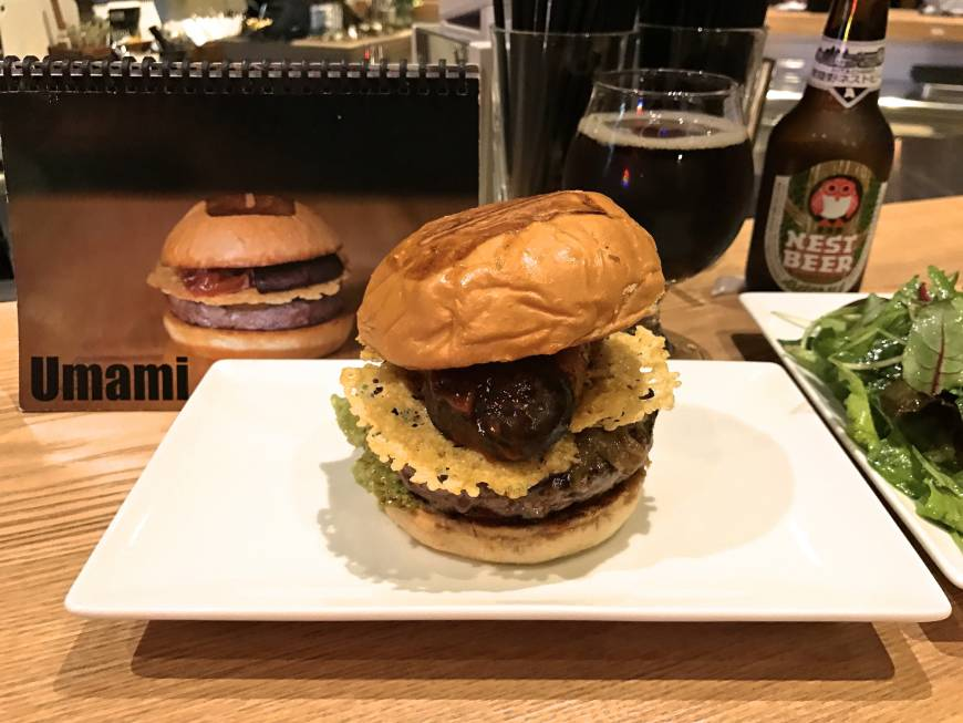 Umamy burger tokyo