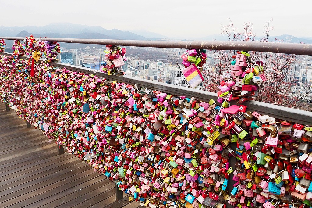 Visiting N Seoul Tower — A tourist icon of Seoul, South ...