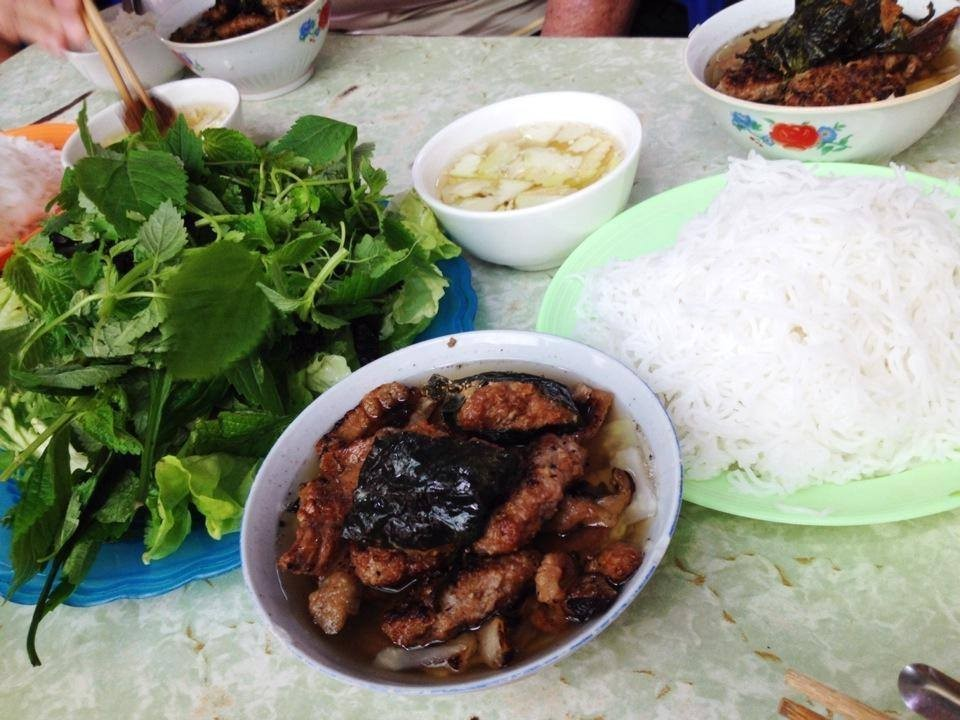 Bun Cha Hanoi dac kim-kebab rice noodle-bun cha-best kebab rice noodle in ha noi2
